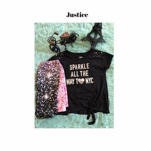 Justice outfit size (12)